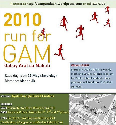 run for gam 2010