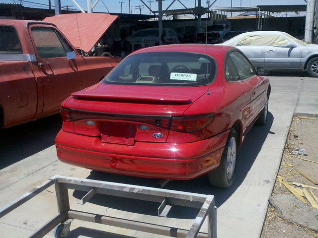 2003 red ford escort zx2