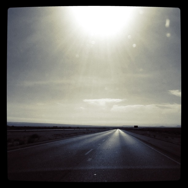 Open Road and Clear skies.