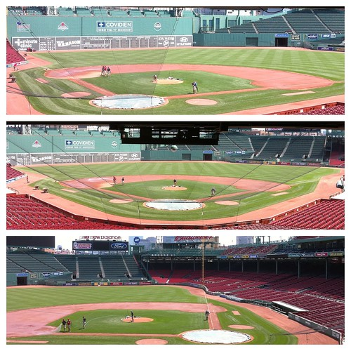 First steps into Fenway