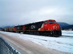 CN 2245 ~ Jasper, Alberta (Chris City) Tags: railroad railway cnrail jasperalberta canadiannationalrailway