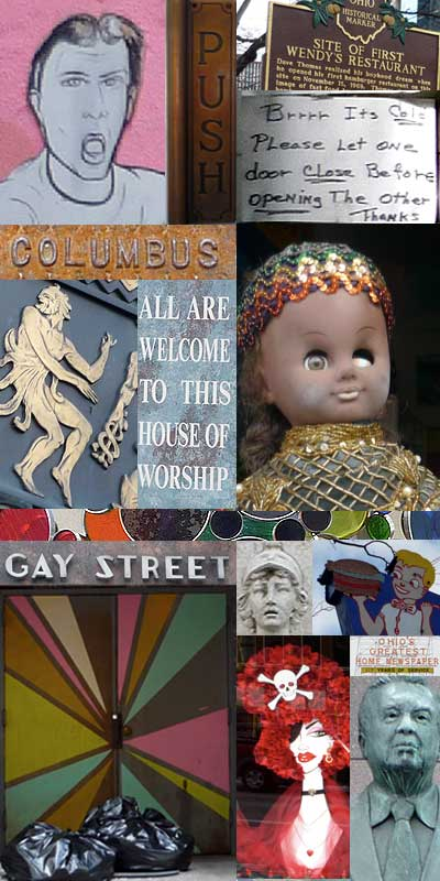 Columbus Ohio collage
