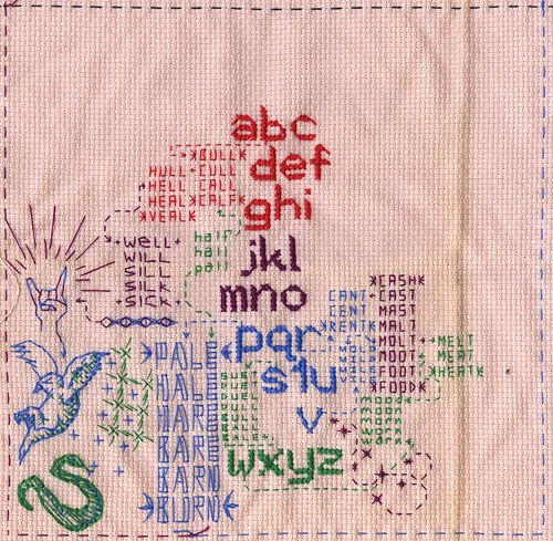 Cross stitch sketchbook