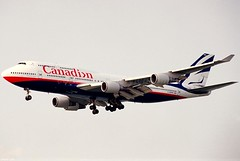 "C-GMWW 747-475 ""Canadian Airlines"" (Daryl Chapman's - Automotive Photography) Tags: hongkong boeing 747 744 canadianairlines vhhh 25r 747475 cgmww"