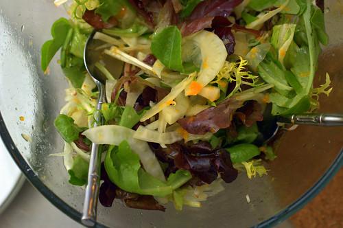 fennel tangerine salad