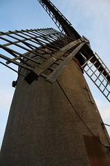 Bidston windmill from beneath sail (mike_walker2000) Tags: windmill bidston bidstonwindmill