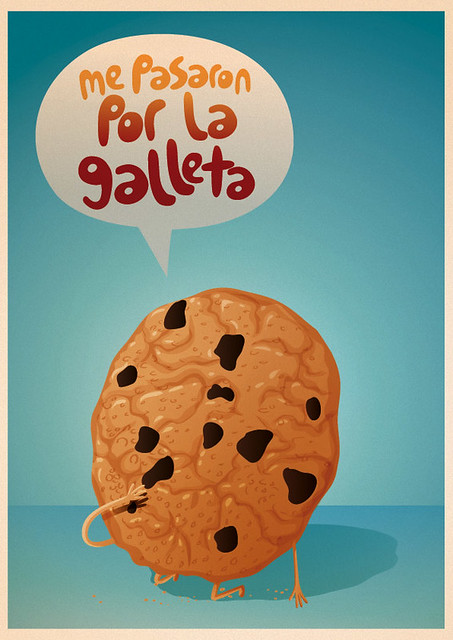 ilustración galleta