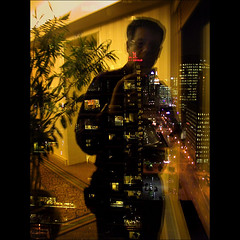 SP DT TO (NaPix -- (Time out)) Tags: street plaza portrait selfportrait toronto canada man reflection night self canon hotel downtown nightshot ps front explore sp to crown nam metrotorontoconventioncentre explored explorefrontpage notanhdr napix fullframeminimaladjastments