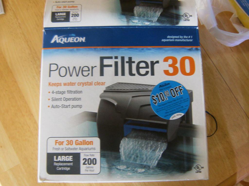 Feb 21 - Aqueon Power Filter 30