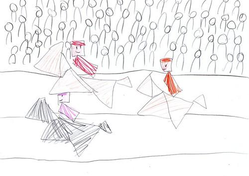 tangram art jockeys