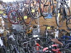 cycleshop TSUKASA 店内