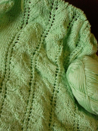 Green lace nightie