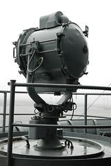 General Electric Searchlight (lollopins) Tags: massachusetts wwii navy newengland battleship fallriver navalmuseum battleshipcove bb59