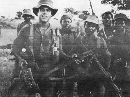 Cubans, Angolans and Namibians, fought along with the ANC in Angola to rid the region of the apartheid SADF forces. The Cubans served in Angola between 1975-1989. by Pan-African News Wire File Photos