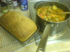 Second loaf and stew