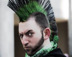 Defiance! (Fernando Farfan.ca) Tags: hair spring crazy respect ottawa parade hostile stpatricksday evillook niceguy strret funnyday