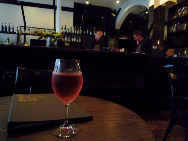 Aperol Spritz at Cutler and Co