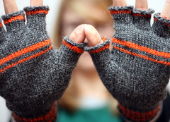 Knucks (Great Danes) Tags: knitting mitts fingerlessmitts knucks
