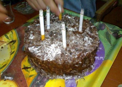 lumanari pe tort