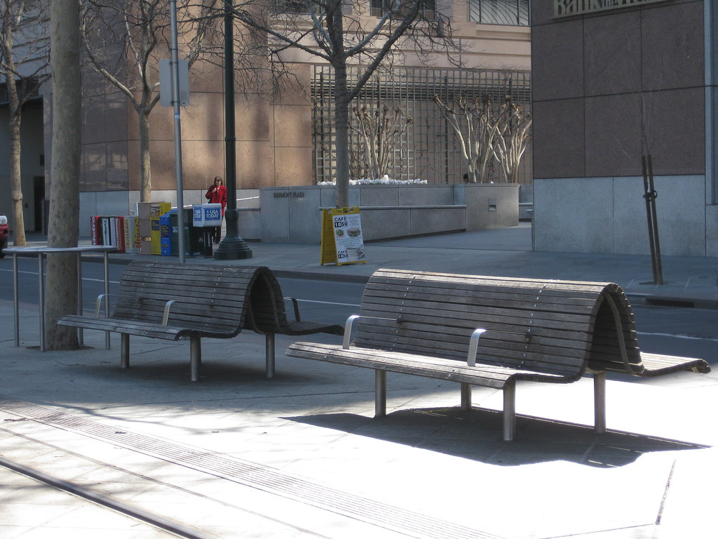 prone-prevention device on bench