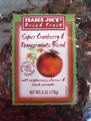 Trader Joe's Super Cranberry and Pomegranate Blend