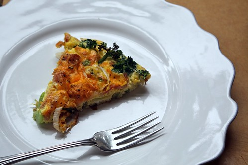 Broccoli Bacon Skillet Frittata