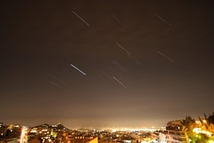 earth hour over athens with short star trails:  87/365 (helen sotiriadis) Tags: longexposure sky night canon stars lights athens greece environment astronomy 365 hdr startrails lycabettus  canonefs1022mmf3545usm photomatix    anawesomeshot earthhour canoneos40d  Astrometrydotnet:status=failed toomanytribbles voteearth  Astrometrydotnet:id=alpha20090348073887