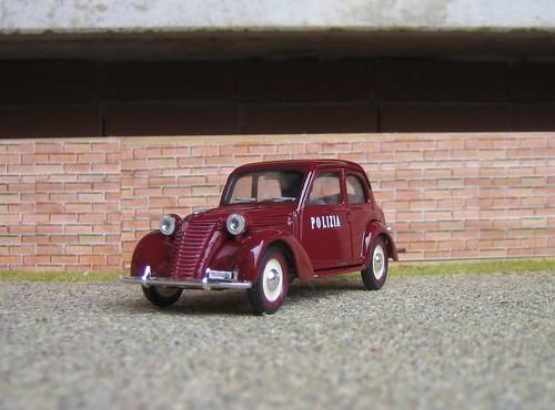 1949 Fiat 1100 E. Italia-Polizia-Fiat 1100 E