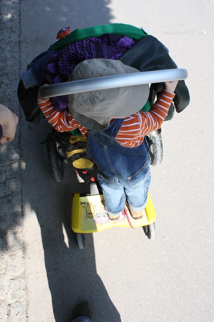 Buggy Board im Einsatz