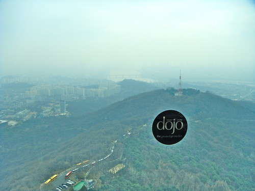 N Seoul Tower and Dojo Sticker!