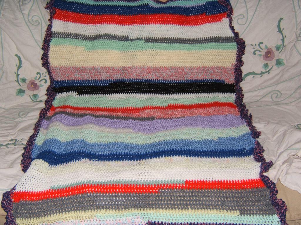 ugly lap blanket!