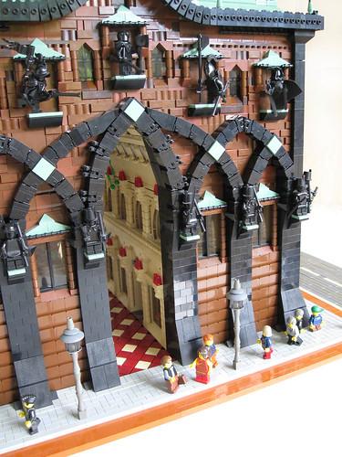 Lego chapel entry