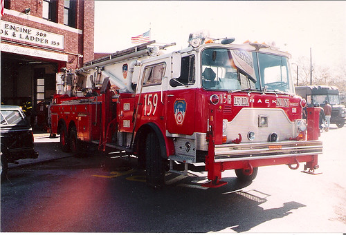 fdny tower ladder 159 mack cf a photo on flickriver