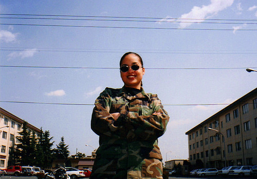 me in uniform by you.