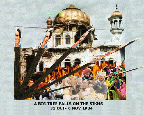 A BIG TREE FALLS ON THE SIKHS 2