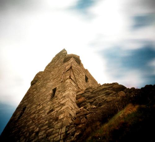 Pinhole Greenan castle