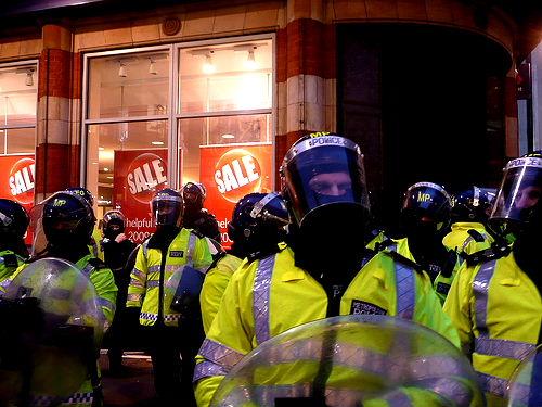 police state UK