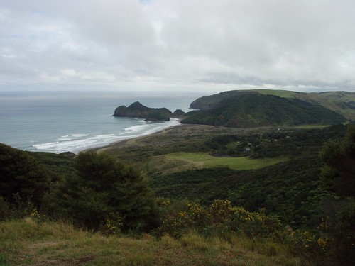 Superdune - Bethells Beach from Above