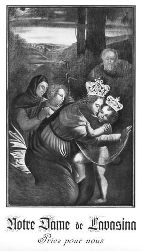 N.-D. de Lavasina (Corse) - Le Tableau miraculeux