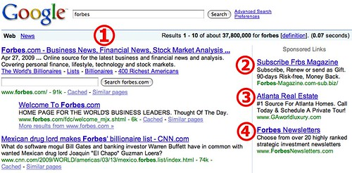 Forbes.com On Google Search