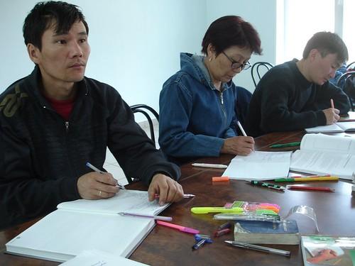 Slujitorii bisericii din Tuva la sesiunea Apocalipsa în Ungut