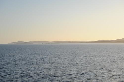 アイラ島が見えた!