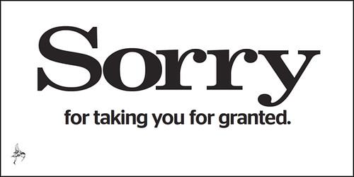 Evening Standard - Sorry