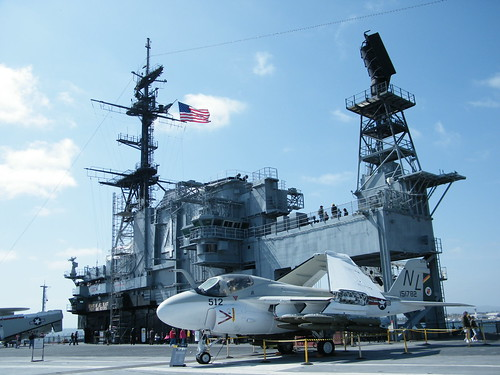 Aircraft on the USS Midway