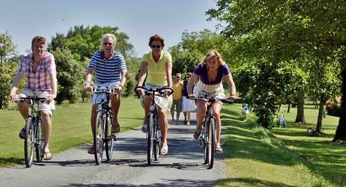 Ciclismo en la Dordogne