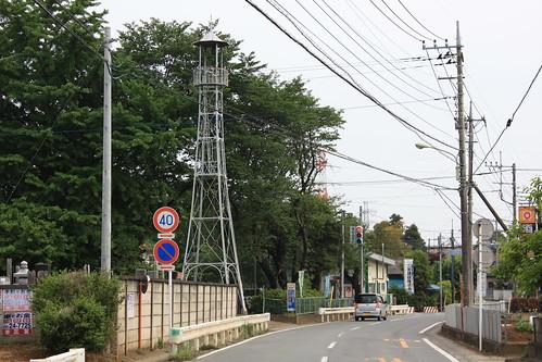 太田ヶ谷の火の見櫓