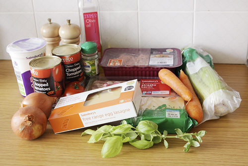 Another Foody Blog Lasagne From Jamie Olivers Ministry Of Food