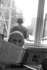 L1014296 my father, waiting & reading Healthy Aging - by Susan NYC