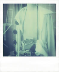 polaroid is for us all. (kaleakte) Tags: film mannequin analog polaroid230 polaroid2000 artistictz freezerdeveloping polaroidisforusall