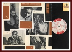 The Jazz Messengers Columbia Records CL 897 JAZZ Vinyl Record LP white label promo